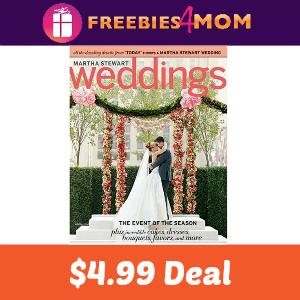 Magazine Deal: Martha Stewart Weddings $4.99