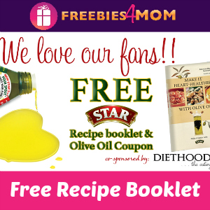 Free Star Olive Oil Recipe Booklet with Coupon