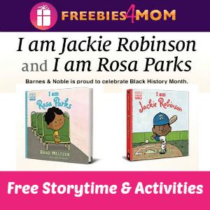 Jackie Robinson & Rosa Parks Storytime Saturday