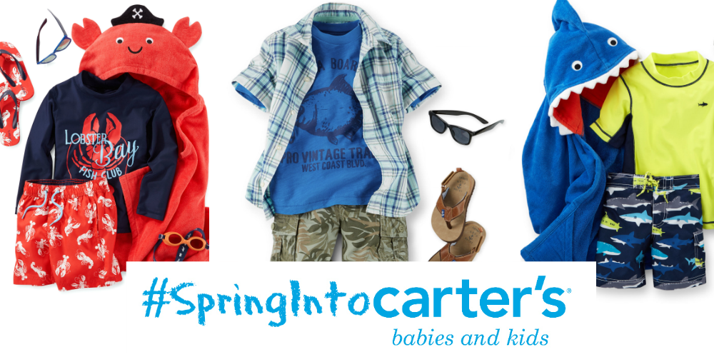 Carters Spring and Summer Outfits