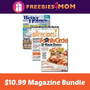 Magazine Bundle: 3 Hot Sellers $10.99/year
