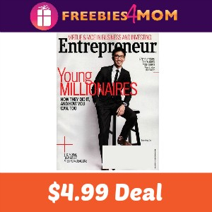 Magazine Deal: Entrepreneur $4.99