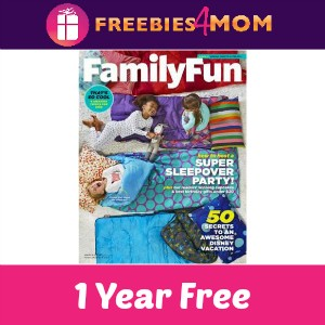 Free Family Fun Magazine (1 year)