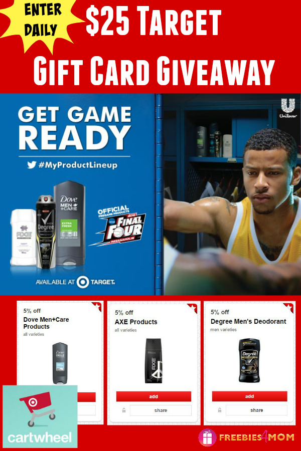 $25 Target Gift Card Giveaway ~ Get Game Ready at Target