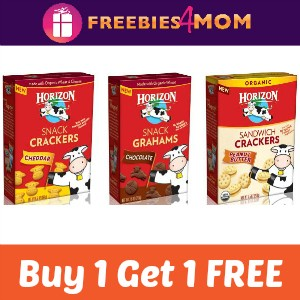 Coupon: BOGO Free Horizon Snack Crackers