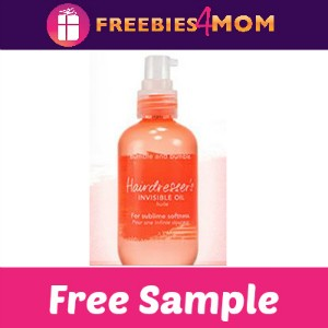 Free Sample: Hairdresser's Invisible Oil