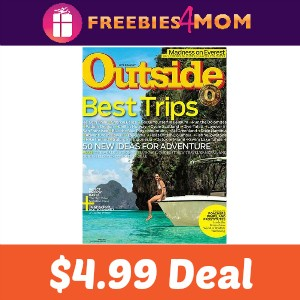 Magazine Deal: Outside $4.99