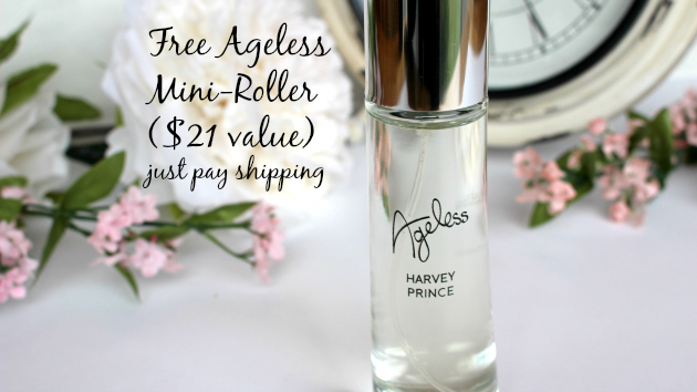 Free Ageless Mini Roller Fragrance ($21 value) just pay shipping + Giveaway (5 winners)