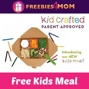 Free Kids Meal at Salata