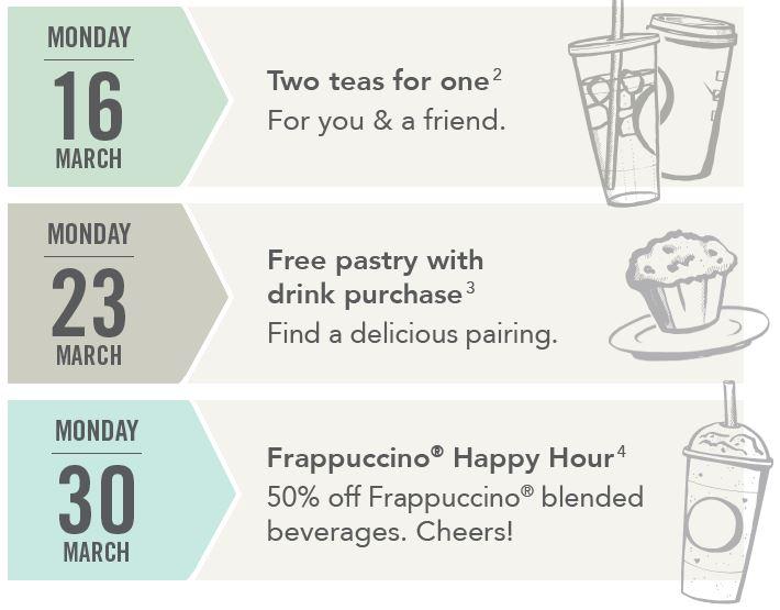 Starbucks Calendar