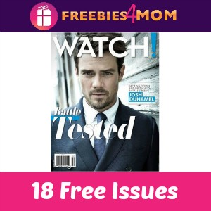Free Watch! Magazine (3 Years)
