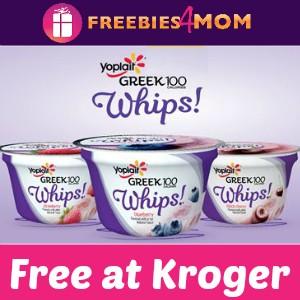 Free Yoplait Greek 100 Whips! at Kroger