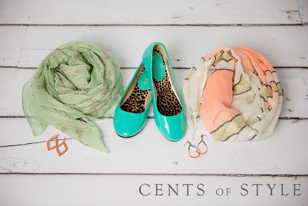 Mint & Peach Accessories $5 & Up