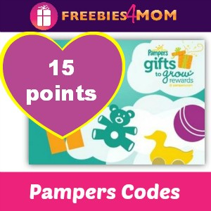 15 Pampers Points (expire 5/15)