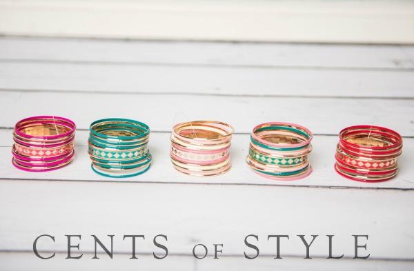 $5.95 Bangle Bracelet Set (+ Free Shipping!)