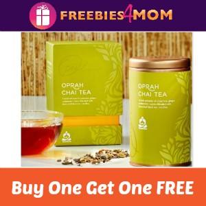 BOGO Free Teavana Oprah Cinnamon Chai Latte