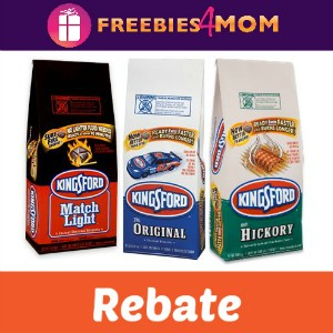 Rebate: Free Bag Kingsford Charcoal