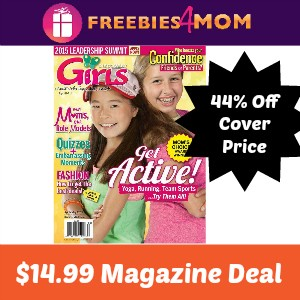 Magazine Deal: Discovery Girls $14.99