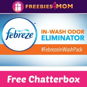 Free Chatterbox: Febreze In-Wash Odor Eliminator