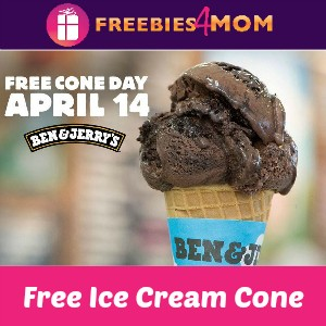 Free Cone Day at Ben & Jerry's April 14