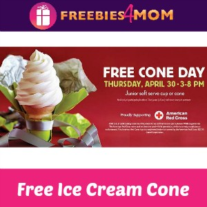 Free Cone Day at Carvel April 30