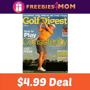 Magazine Deal: Golf Digest $4.99