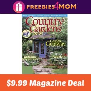 Magazine Deal: Country Gardens $9.99
