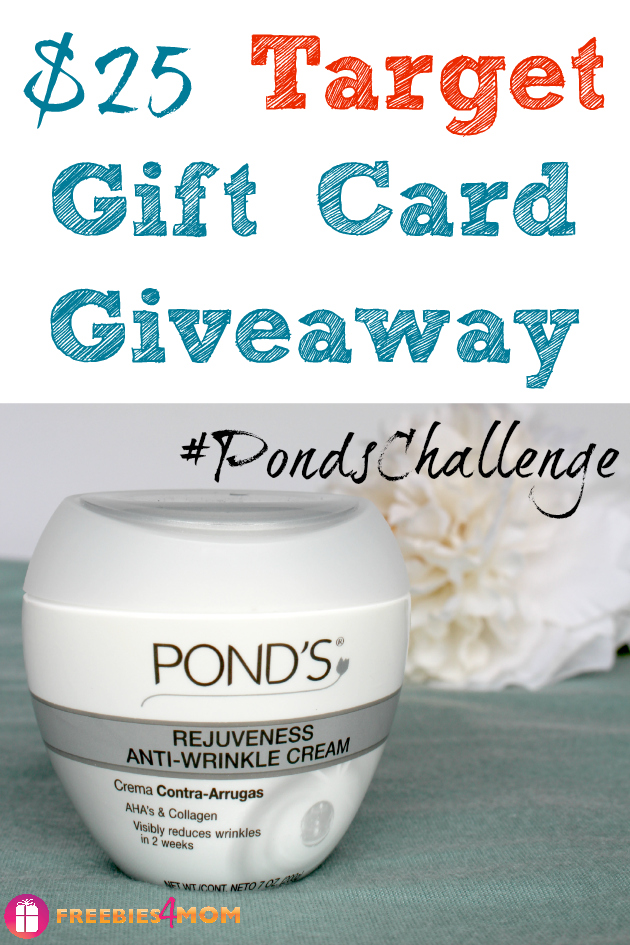 $25 Target Gift Card Giveaway ~ Take the #PondsChallenge at Target