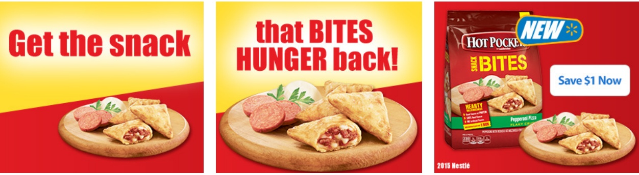 HOT POCKETS® Snack Bites Coupon