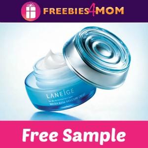 Free Sample Laneige Water Bank Moisture Cream
