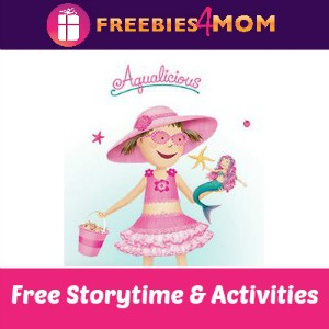 Pinkalicous Storytime at Barnes & Noble Saturday