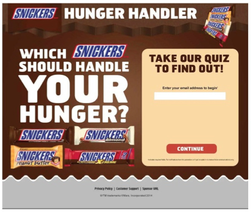 SNICKERS® Hunger Handler