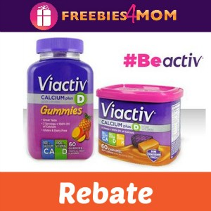 Rebate: Free Viactiv *First 3,000*