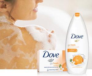 Dove go fresh Body Wash at Walmart