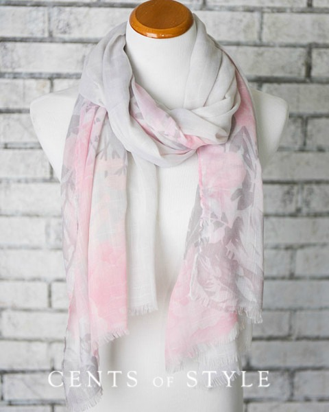 Floral Print Scarf $8.95 + a 2nd for $2.99