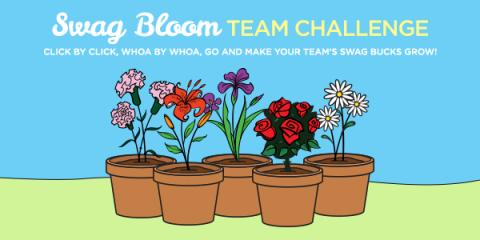 Win Swagbucks with Swag Blooms Team Challenge