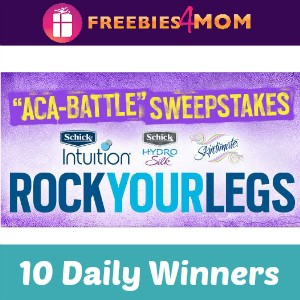 Sweeps Schick Aca-Battle (10 Daily Winners)