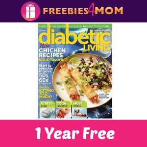 Free Diabetic Living Magazine (1 Year)