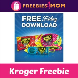 Free Juicy Drop Pop, Taffy or Gummies at Kroger