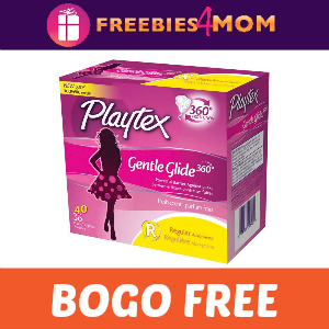 BOGO Free Playtex Gentle Glide ($7.99 value)