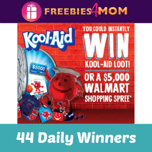 Sweeps Kool-Aid Prize Vault (44 Daily Winners)