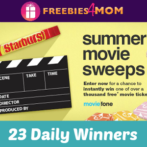 Sweeps Starburst Moviefone Summer