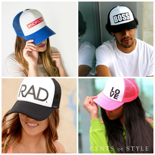 Unisex Trucker Hats $9.95 + Free Shipping