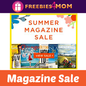 Summer Magazine Sale