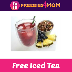 Free Pineapple Berry Blue Iced Tea at Teavana