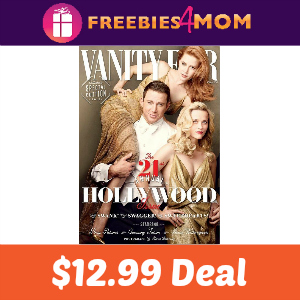 Magazine Deal: Vanity Fair $12.99