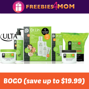 ULTA Printable Coupon: BOGO Dr. Lin Skincare (save up to $19.99)
