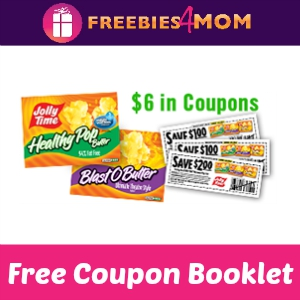 Free Jolly Time Pop Corn Coupon Booklet
