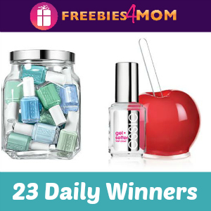 Sweeps Essie Gel Setter (23 Daily Winners)