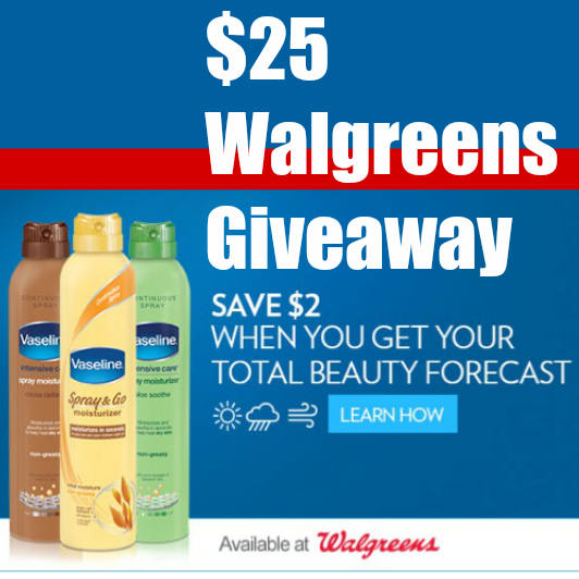 $25 Walgreens Gift Card Winner